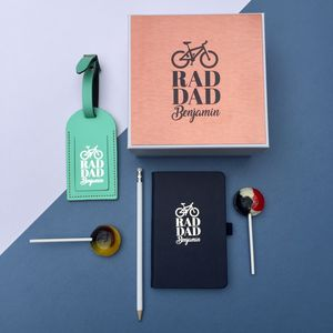 Personalised Rad Dad Gift Set