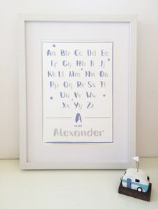 Personalised Star Print - new in home
