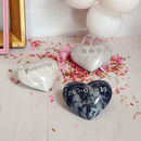 Personalised Marble Heart