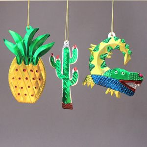 Mexican Tropical Christmas Decorations