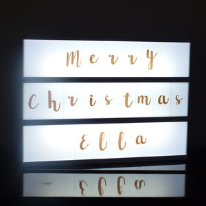 Extra Letter Sets For Lightbox - lighting