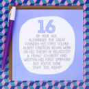By Your Age… Funny 16th Birthday Card