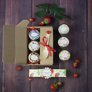 Gourmet Jam And Marmalade Taster Box - jams & preserves