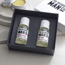 Set Of Two Beard Oils Luxury Gift Boxed