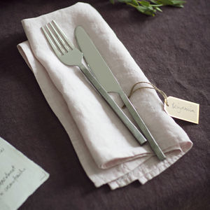 New Rose Linen Napkin - napkins