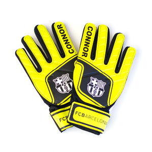 Personalised Barcelona Goalkeeper Gloves - outdoor toys & games
