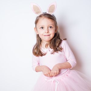 Woodland Bunny Tutu And Ears Craft Kit