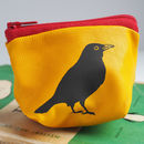 Small Blackbird Leather Coin Purse