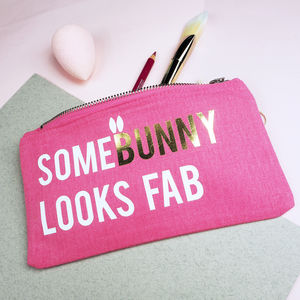 Personalised Somebunny Make Up Bag - new in health & beauty