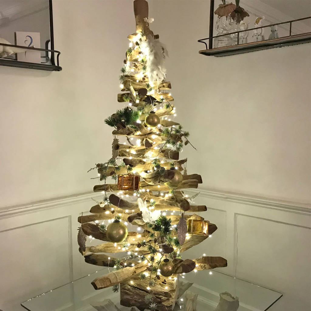 5ft Natural Driftwood Christmas Tree By Doris Brixham