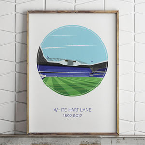 Football Stadium Graphic Illustration Print - activities & sports