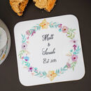 Traditional Wreath Flower Coaster