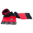 Red/Black Deluxe Cashmere Football Scarf