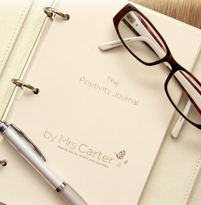 Personalised Luxury Positivity Journal Inserts