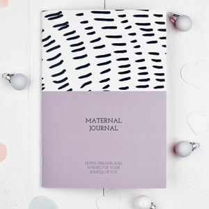 Maternal Journal Notebook - baby shower gifts