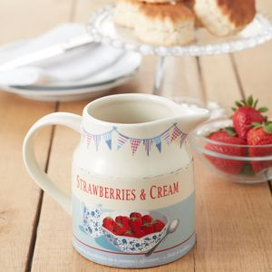Summer Cream Jug