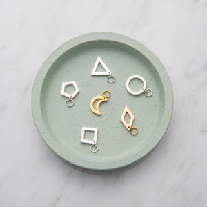 Personalised Open Geometric Charms