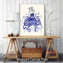 Octopus About Town, Octopus Print