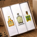 Box Of Men's Hankies: Whiskey