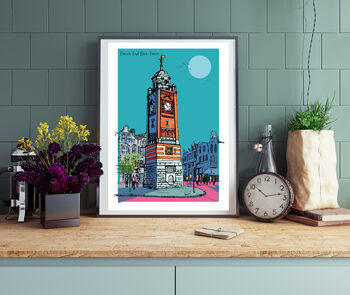 Crouch End London A3 Print