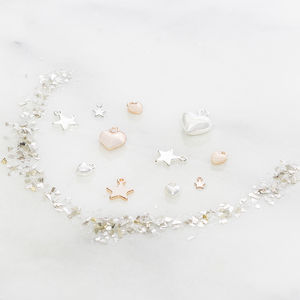 Add On Star Or Heart Charm To Personalised Jewellery