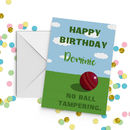 Cricket No Ball Tampering Birthday Card