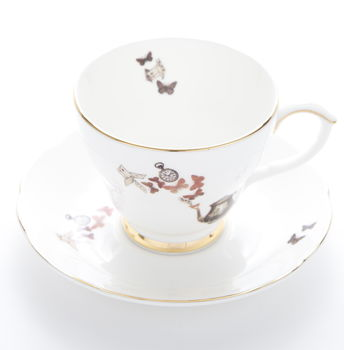 Alice Teacup And Saucer
