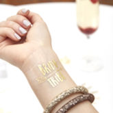 Gold Flash Arrow Bride Tribe Hen Do Tattoo - health & beauty