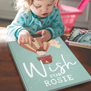 Personalised Wish Book For Baby Or Child