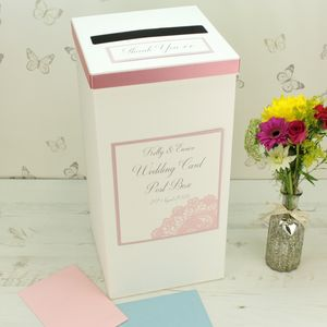 Personalised Victoria Wedding Post Box