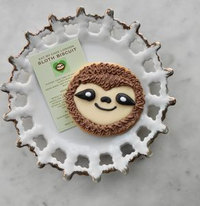 Sloth Biscuit - cakes & sweet treats