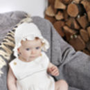 Personalised Organic Smocked Romper