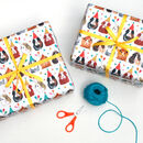 Party Guinea Pig Wrapping Paper