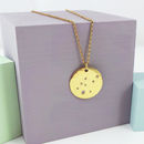 Gold Scattered Jewel Necklace