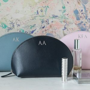 Limited Edition Leather Make Up Bag - gifts for her