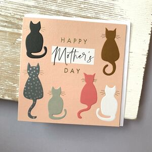 'Happy Mother's Day' Cats Card