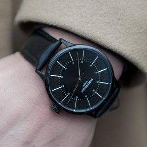 'Confluence' Black Unisex Watch - new in jewellery
