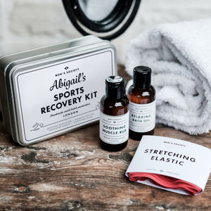 Personalised Sportsman Recovery Kit - gifts for him