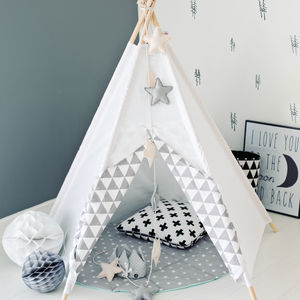 Kids Teepee Tipi White Mist - shop by recipient
