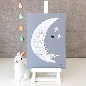 Half Moon Giclee Print - pictures & prints for children