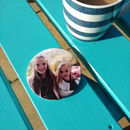 Personalised Photo Coasters Birthday Gift For Dad
