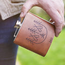 Fathers Day Camping Hip Flask