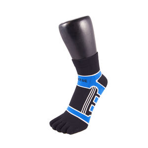 Sports Micro Fibre Running Trainer Toe Socks - socks