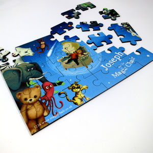 Personalised Children's Jigsaw Puzzle - puzzles