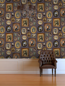 Portrait Gallery Wallpaper - dining room