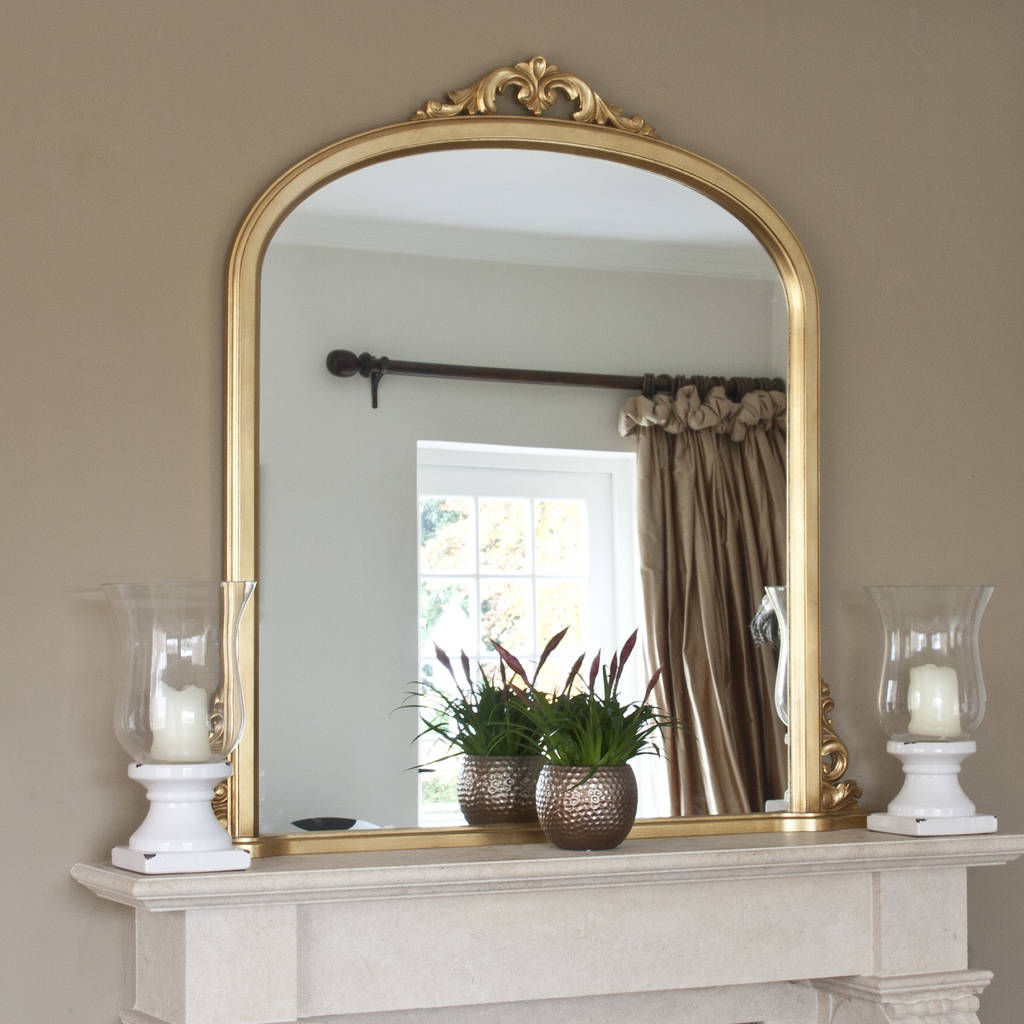 Victoria Overmantel Antique Gold Or Ivory By Decorative