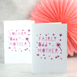 Odd Mother Funny Card For Mums - view all gifts