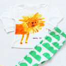 Sunday Lion Kids Long Sleeve Pyjamas Cloud Legggings