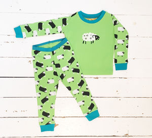 Children's Sheep Pyjamas - children's nightwear