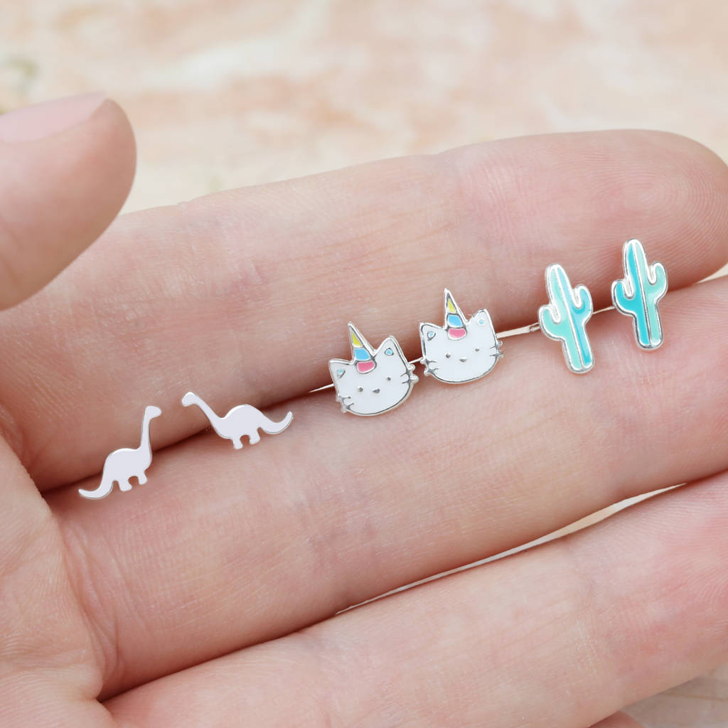 Children S Stud Earrings